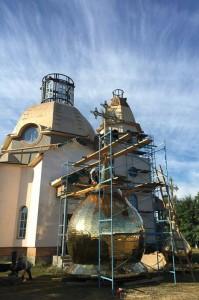 podgotovka-k-ustanovke-kupola