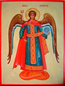 ангел хранитель на иконе