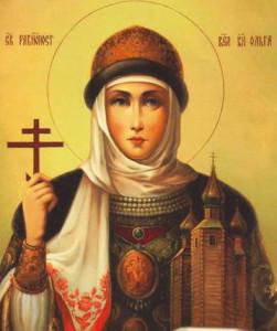 обзор иконы святой княгини Ольги