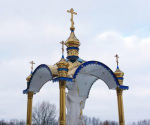 Изготовление куполов и крыш для капличек