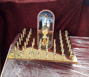 Крышка панахидного столика на 44 свечи