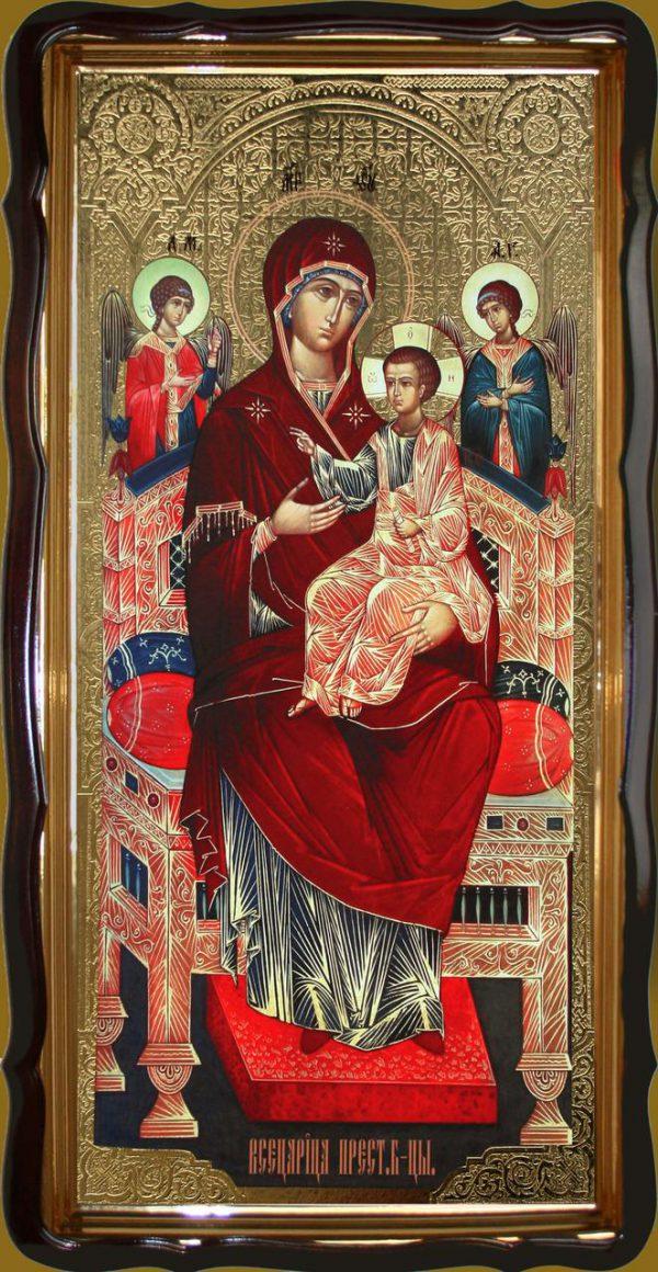 Икона Божьей Матери «Всецарица» 120х60 или 110х80см