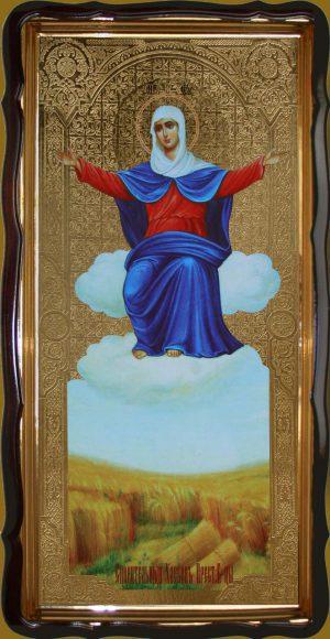 Икона Спорительница хлебов 120х60см или 110х80см