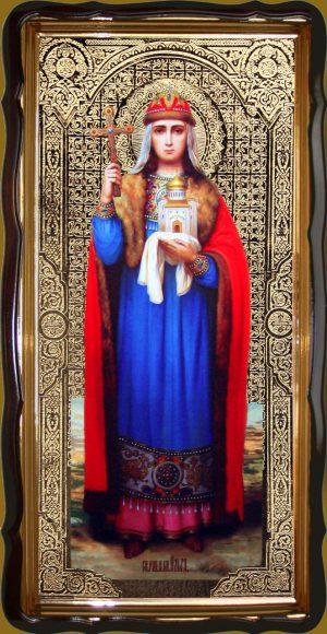 Икона святой Ольги 120х60см или 110х80см