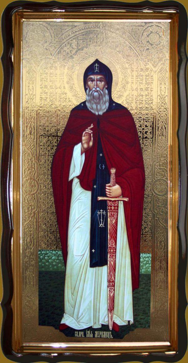 Преподобный Илия Муромец 120х60см