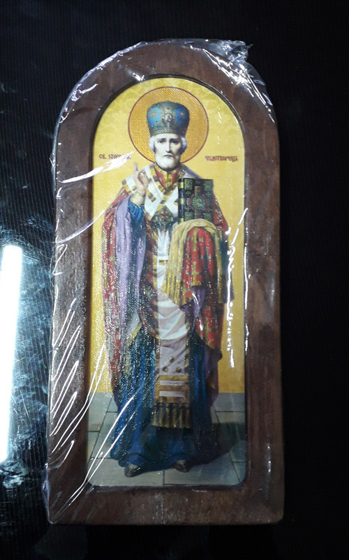 Ікона на дарунок Святий Миколай