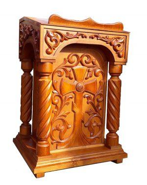 Аналой резной из дерева православный 70х50см