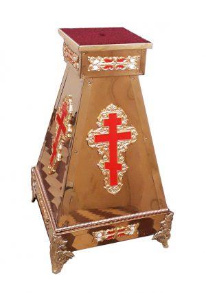 Подставка для хоругви или креста из булата