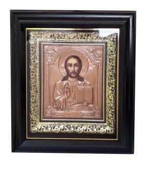 Икона Спасителя (венчальная) 56х51см