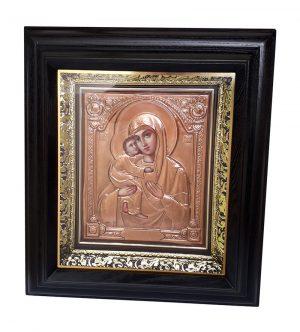 Владимирская Пресвятая Богородица икона 51х56см