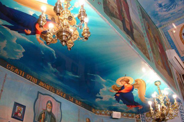 Оформление сводной части храма на заказ