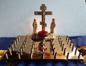 Купить крышку панихидного стола на 36 свечей