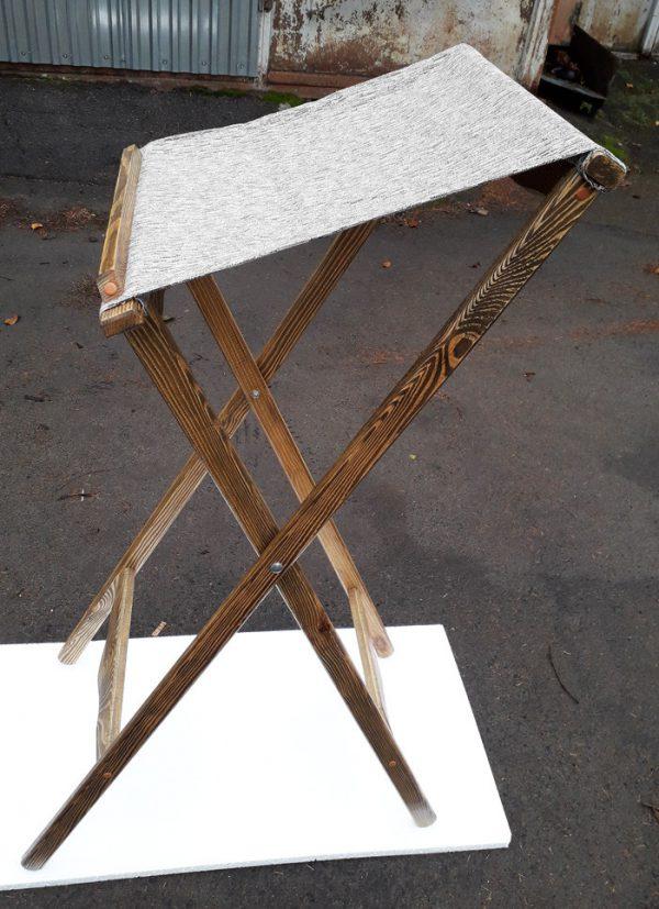 Раскладной аналой из дерева с тканью церковный