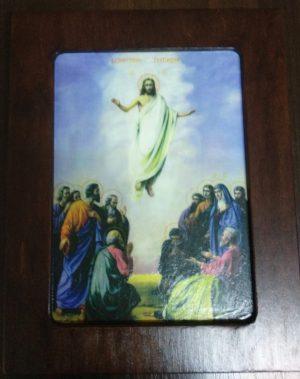 Ікона -ковчег Воскресіння Христове 26х20см