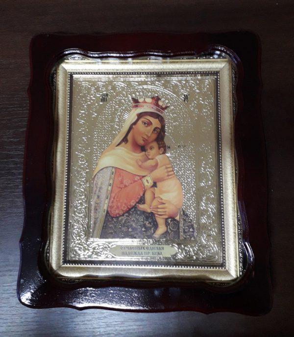 Икона Пр. Богородицы Отчаянных единая надежда 35х30см