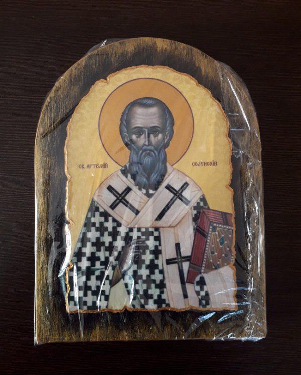 Ікона Святого Артемія Солунського