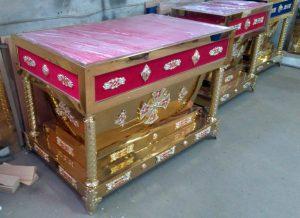 Гробница рака из булата с литьем
