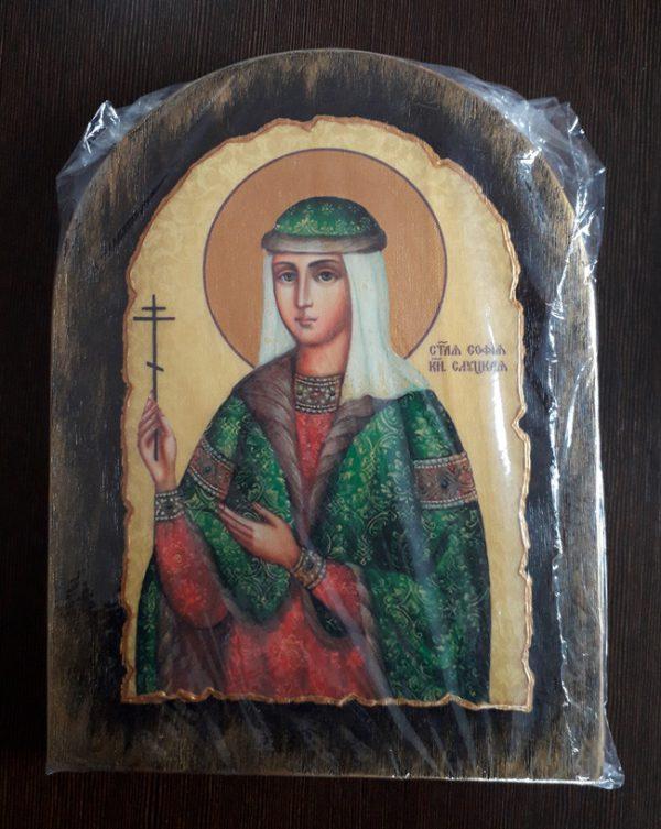 Ікона з росписом Свята Софія  Слуцька