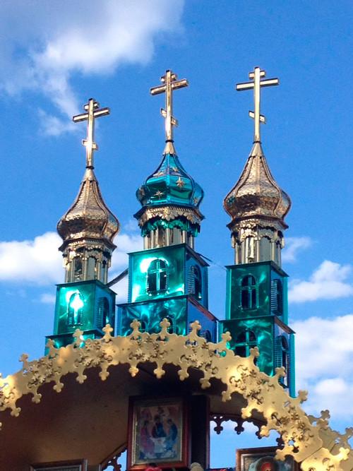 Малые маковки-купола на часовню или ворота храма