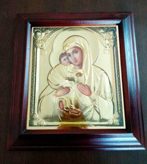 Икона Пресвятой Богородицы 34х37см