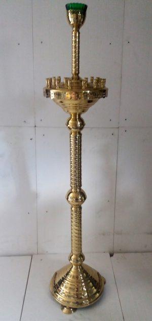 Напольный церковный подсвечник на 24 свечей прямая труба