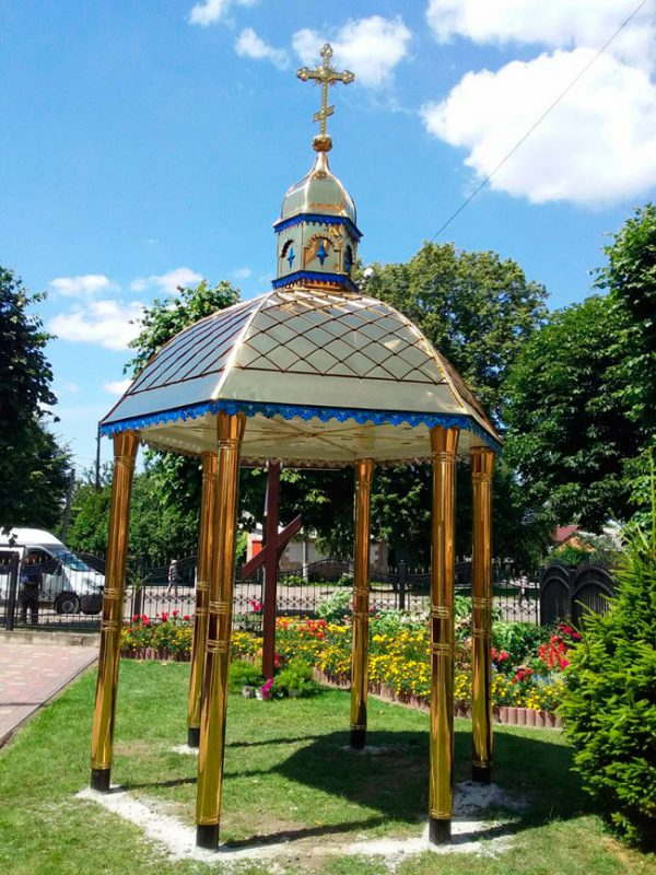 Каплиця із булату d/3.2м (встановлена в м.Нововолинськ 16.07.19)