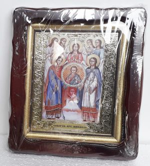 Икона Собор Архангела Михаила 35х30см
