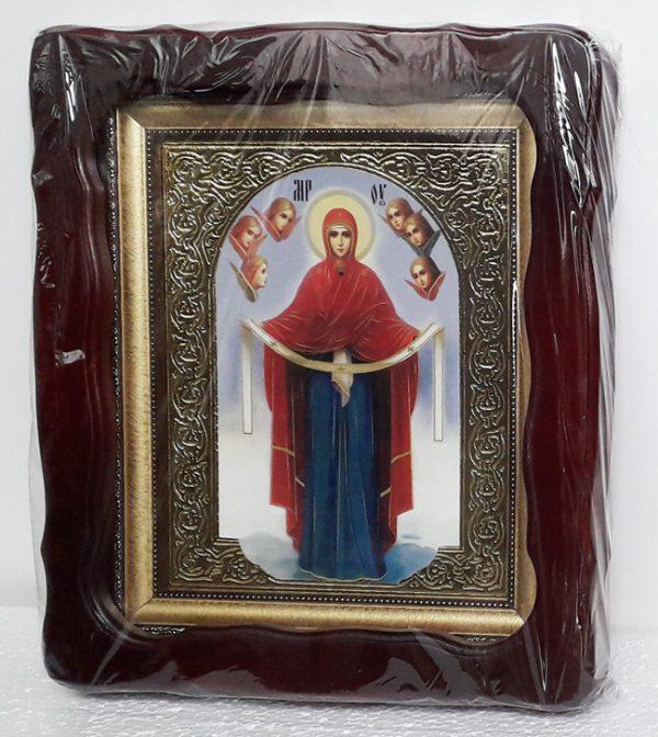 Икона Покров Пресвятой Богородицы 35х30см