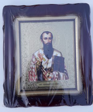 Икона святого Василия Великого 35х30см