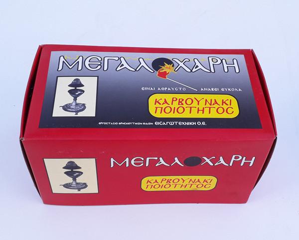 Уголь кадильный Греческий в стикерах
