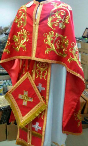 Облачение священника православной церкви на заказ