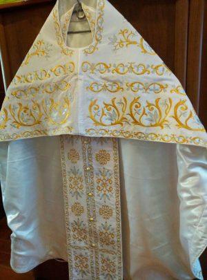 Облачение для священника размер 52-54 бархат