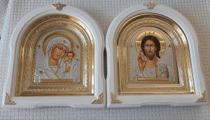 Венчальная пара - иконы 26*29см