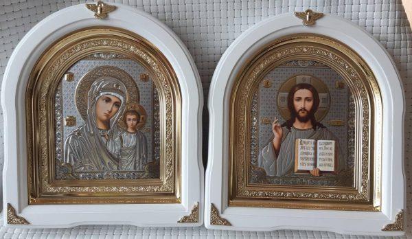 Иконы Венчальная пара - размер 26*29см.