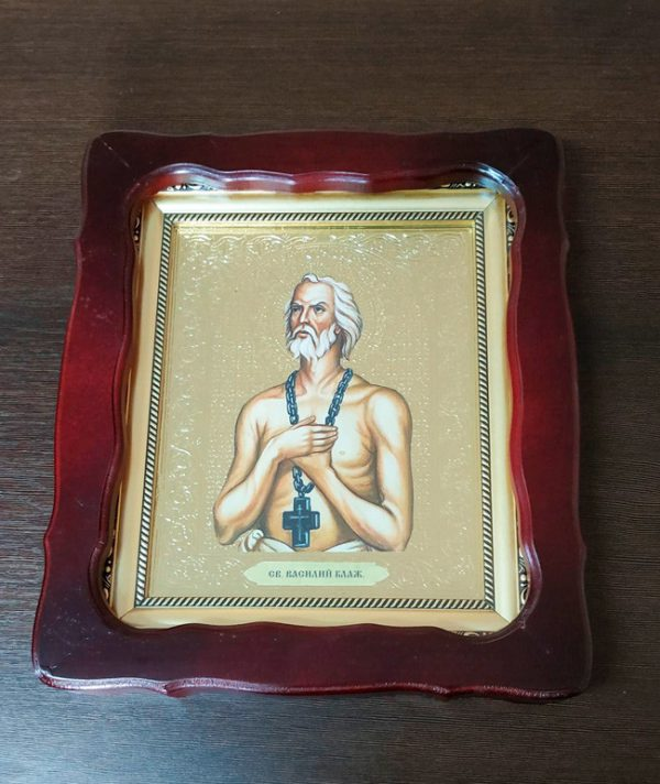 Икона Св. Василий Блаженный 35х30см