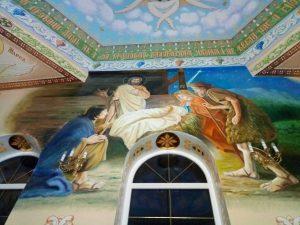 Роспись стен храма Апостолов Петра и Павла (Украина)