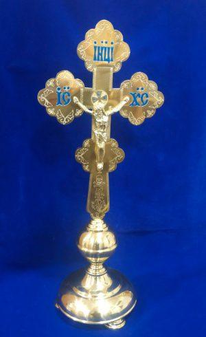Крест напрестольный средний с гравировкой