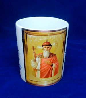 Кружка с образом Святого Владимира