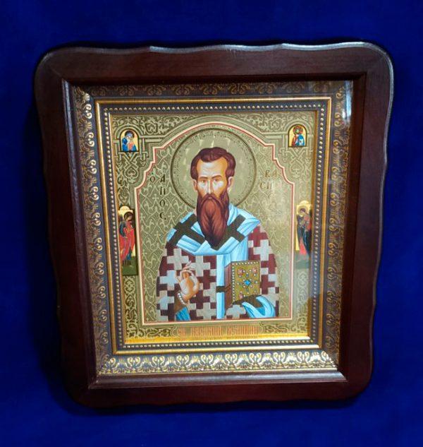 Икона Святой Василий Великий 23х26см