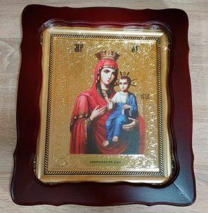 Иверская Пресвятая Богородица икона 35x30cm