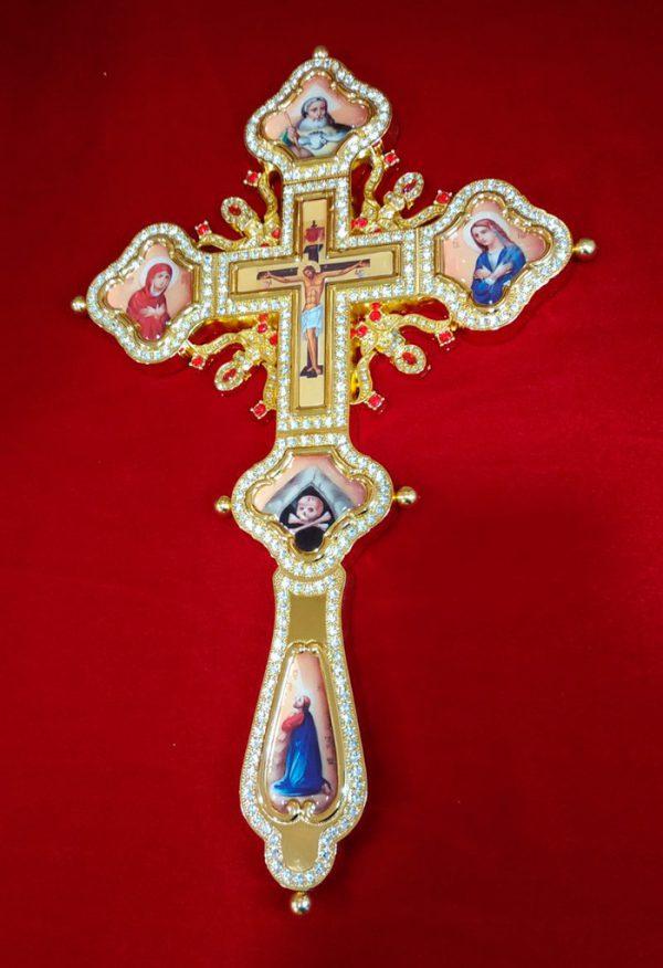 Требный крест священника с коробкой (Греция)