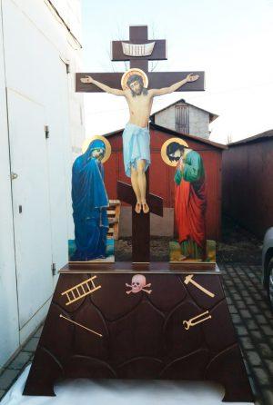 крест из дерева)