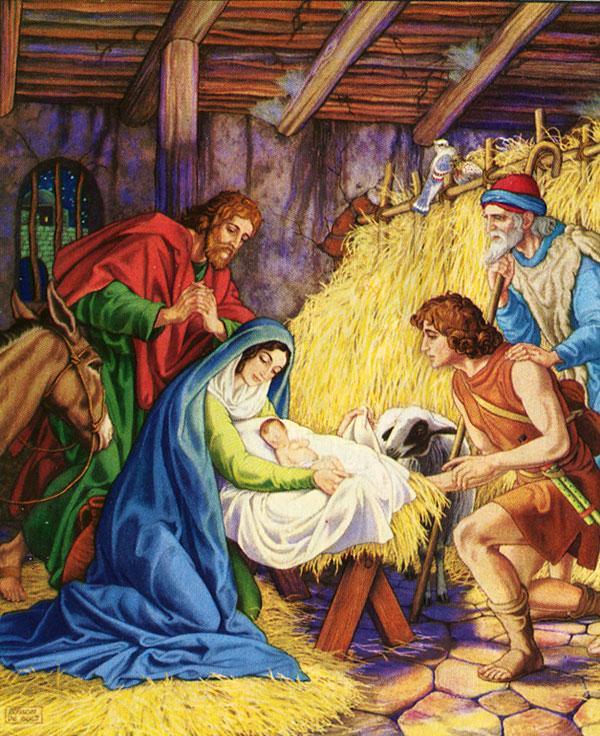 Рождество Христово (макеты икон на пвх)