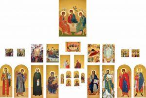 Изготавливаем макеты икон для иконостасов и печатаем иконы на ПВХ
