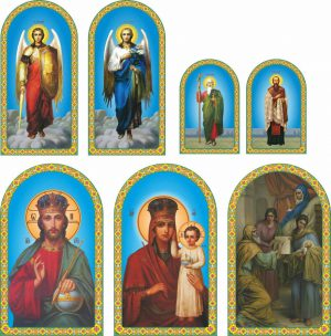 Изготовим дизайн икон для храма и напечатаем иконы на ПВХ под ключ