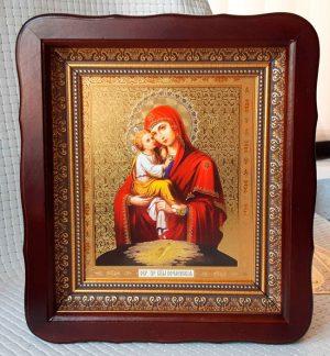 Икона Божией Матери Почаевская 23х26см