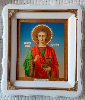 Икона Пантелеймона целителя 21х24см