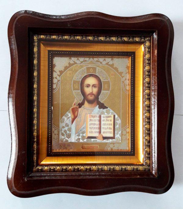Икона Спасителя пояс. 23х26см