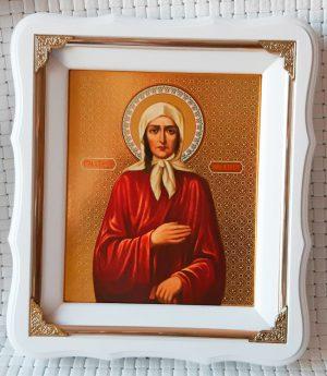 Икона Блаженной Ксении 21х24см