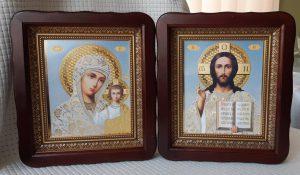 Иконы Венчальная пара 23х26см